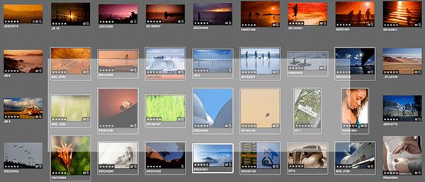 Aperture vyber fotografii