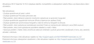 MacOS X 10.10.4