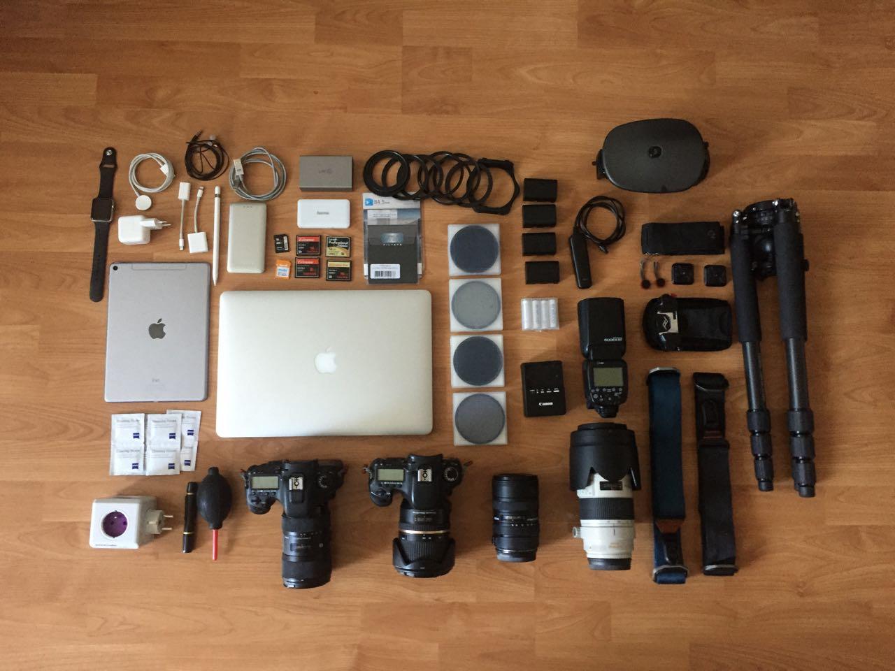 Fotovýbava na fotoexpedice