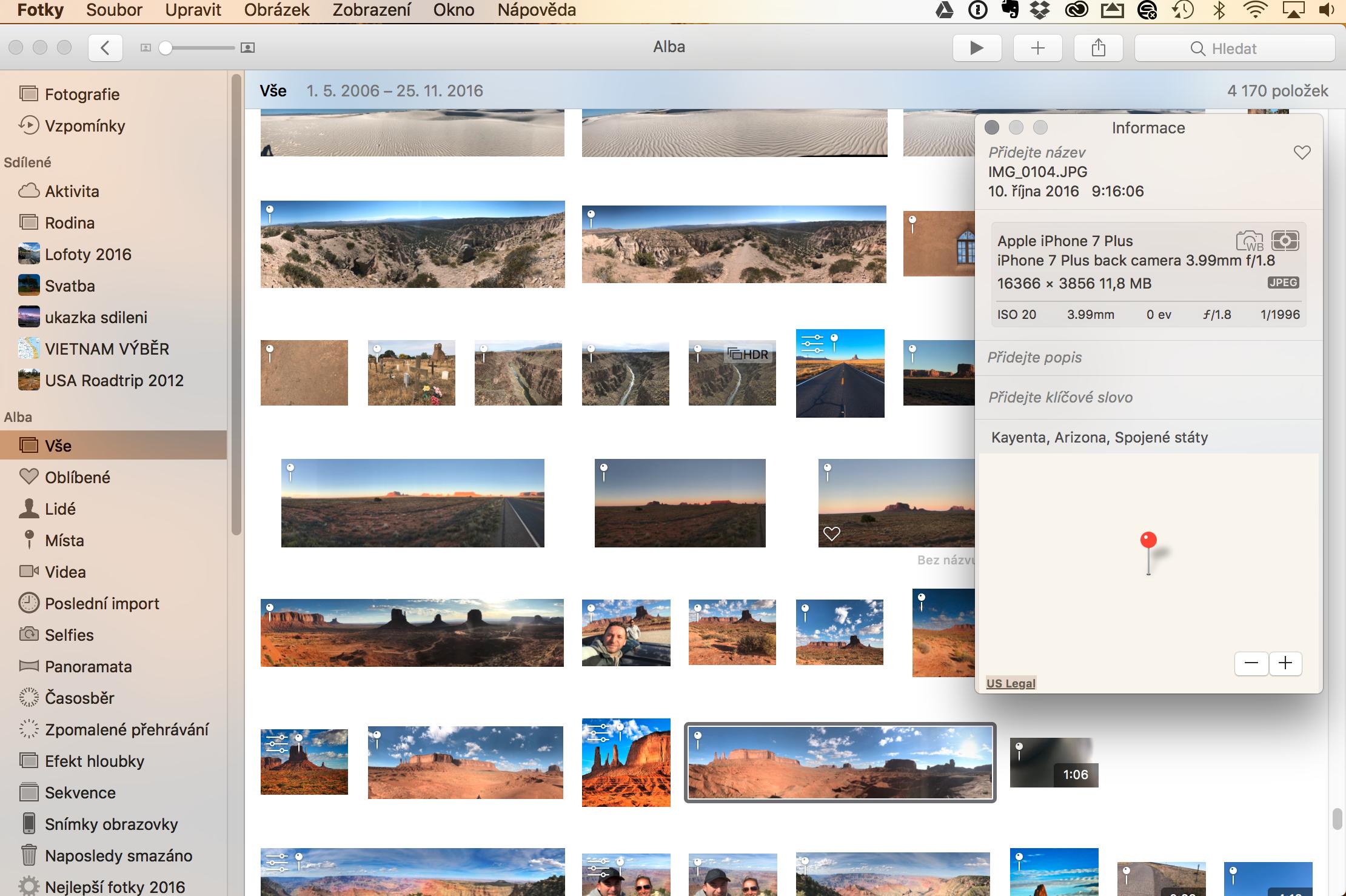 Fotky MacOS
