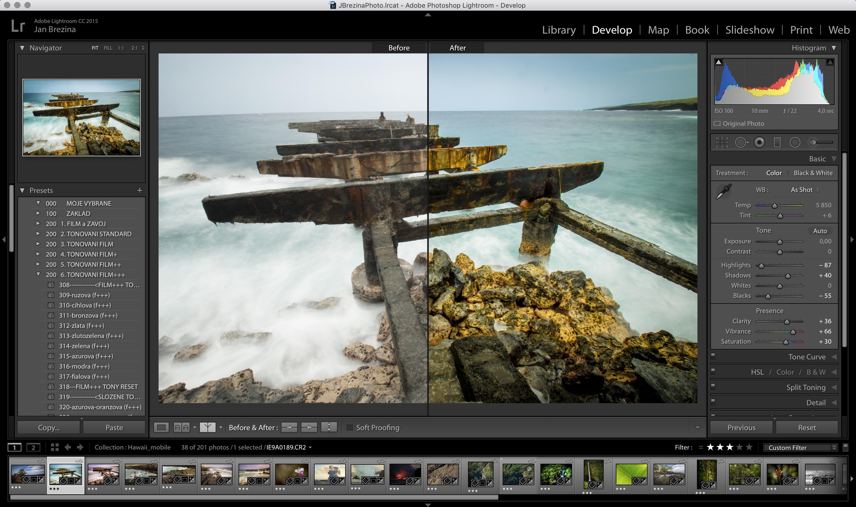 Adobe Lightroom pro krajináře